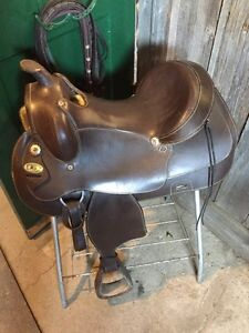 Selle western RS pour gros chevaux