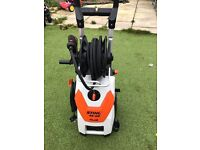 Stihl re129 plus pressure washer. Mint condition used once