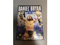 "Daniel Bryan WWE ""Just Say Yes! Yes! Yes!"" 3 Disc DVD **NEW**"