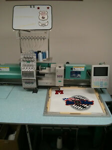 Embroidery and Chenille machine fully computerized