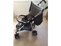 Silver cross pushchair with bag