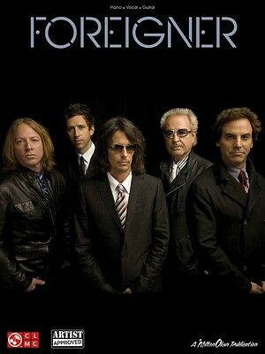 Foreigner The Collection Sheet Music Piano Vocal Guitar SongBook NEW 002501542