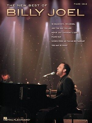 The New Best of Billy Joel Sheet Music Piano Solo Book NEW