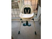 Mamas & Papas high chair - excellent condition.