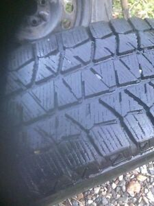 Blizzack winter tires on rims Prince George British Columbia image 3
