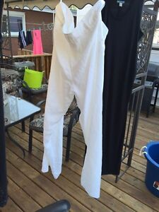 NEW in package!  White linen pants