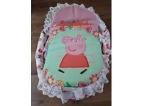 Peppa Pig Play Carry Cot/Bed
