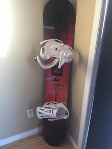 Burton Custom X Snowboard with Mission Bindings