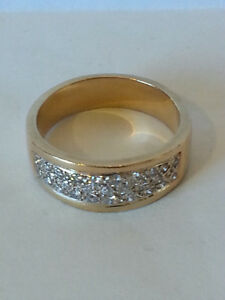 Mans Wedding Ring-Less Than Appraised Value