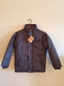 Boys'  Brand New Timberland Winter Jacket in size 7.
