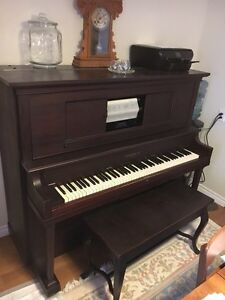 Antique Player Piano in time for the Holidays! Kitchener / Waterloo Kitchener Area image 1