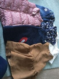 Huge bundle of 3-4 clothes all vgc from next etc