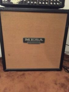 Mesa Boogie - 4x12 Cabinet - Tan Grill Cloth