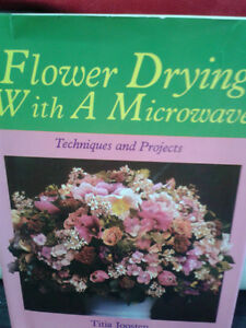 FLOWER DRYING BOOK London Ontario image 1