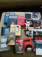 Graphic Novel Collection: Miller, Moore, Spiegelman, Sacco