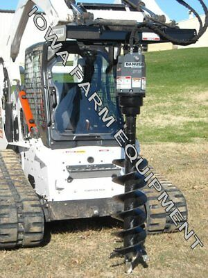 Hydraulic Post - Hydraulic Post Hole Digger Auger Drive,Skidsteer Q/A:Danuser EP15 & 12