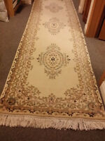 Hand Made Wool Area Rug Runner
