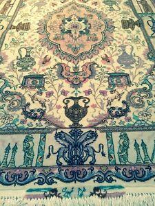 Real persian rug,tapis persan ,Persian carpet.