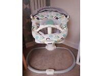 Grace peace seat baby swing