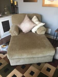Chaise Lounger and Loveseat for Sale