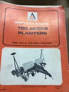 Allis Chalmers Part's, Service and  Operators Manual's Stratford Kitchener Area image 5