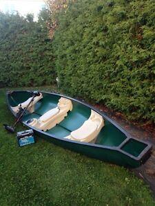 Canoe 15 pied