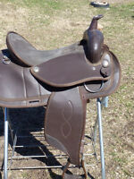 17 IN SYNTHETIC WESTERN SADDLE