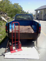 LIFT GATE-  3/4 Ton Pickup Truck For Hire