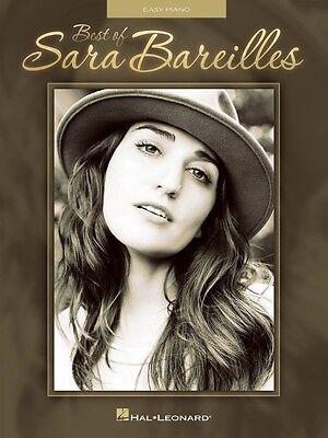 Best of Sara Bareilles Sheet Music Easy Piano Book NEW (Best Of Sara Bareilles)