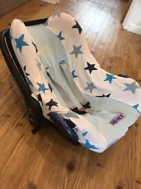 Dooky Baby Car Seat Cover