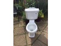 New toilet pan and seat £50 ono