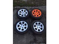 Saxo VTR alloys 185/55R14 108 PCD