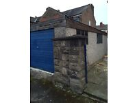 Garage for sale (new roof will be required).