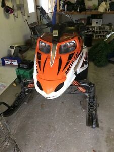 2008 Arctic Cat F8 LXR LOW KM Kitchener / Waterloo Kitchener Area image 2