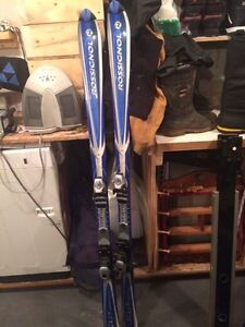 Brand new rossignol skis and boots