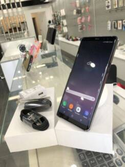 Mint Condition Galaxy Note 8 64gb Black warranty tax invoice Surfers Paradise Gold Coast City Preview