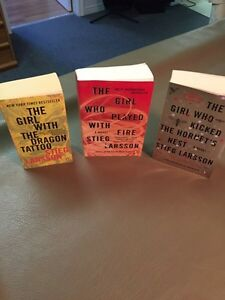 The Girl With The Dragon Tattoo Series (Price In Description)