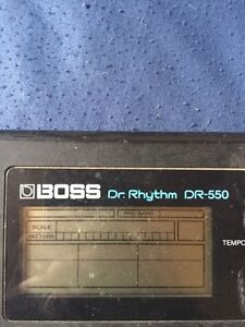 Vintage Boss drum machine DR-550 Belleville Belleville Area image 2