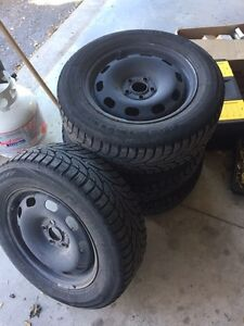 2002 Jetta rims and tires