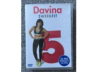 Davina 5 Week fit FITNESS DVD Excellent condition