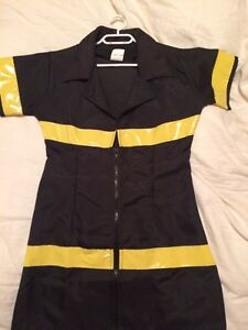 Ladies Fireman Costume Fits Size MM