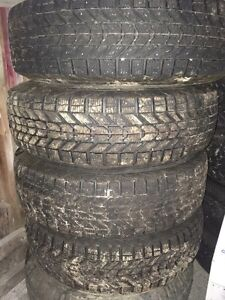4 winter tires ford ranger