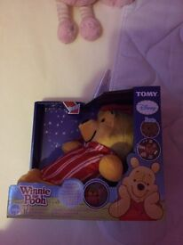 Winnie the Pooh glow and sing