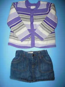Girls Size 2T Winter Clothes Retails $100