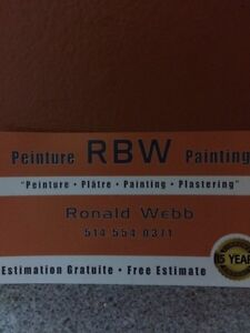 PAINTING/PLASTERING/BASIC REPAIRS West Island Greater Montréal image 1