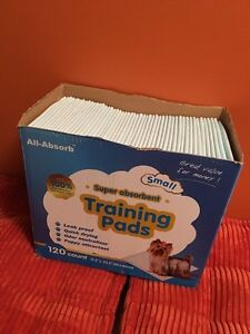 Puppy Pads!  Almost full case!