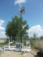 LED Light Towers / Electrical Distribution Equipment - Sale/Rent