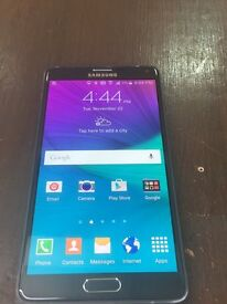Samsung note 4 32 Gb unlocked 🌲condition is excellent like new with charger