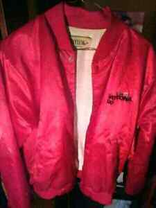 Red Nascar Daytona 500 jacket made by Taylor in the U.S.A $25