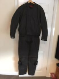Hein Gericke 2 piece leather suit size 56 euro, 38/46 uk